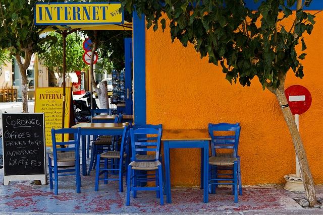 Café - Paleochora   Flickr: Intercambio de fotos