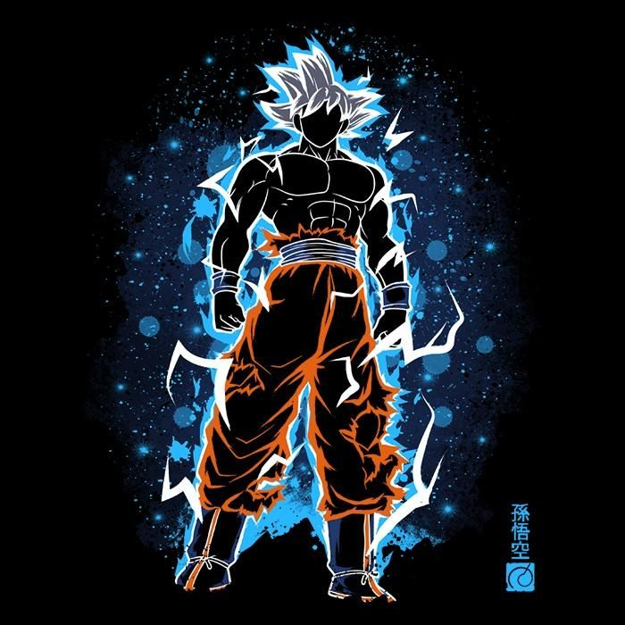 The Mastered Ultra Instinct From Soulkr Want More Options For This Design Click Here Zip Anime Dragon Ball Super Dragon Ball Super Goku Dragon Ball Artwork