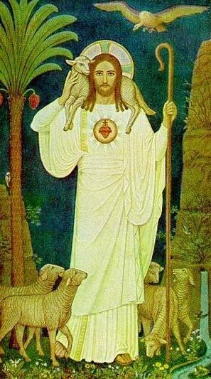 Christ the Good Shepherd   (Sacred Heart)