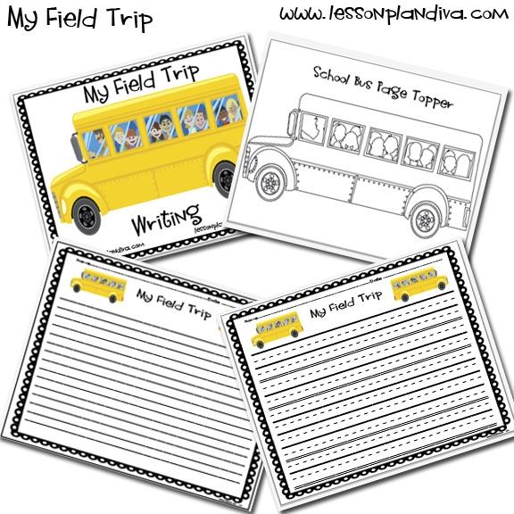 Free Field Trip Writing Pack