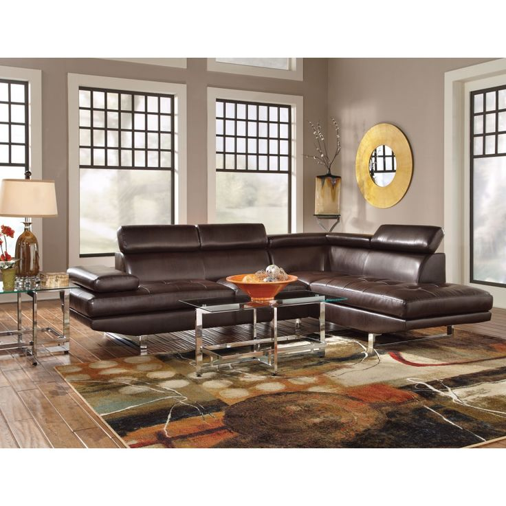 Coaster Piper Contemporary Sectional With Adjustable Headrests 503022.  Sectional CouchesLeather ... Part 68