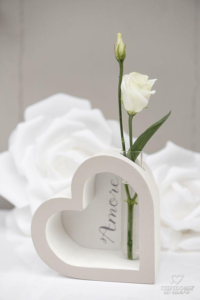 Bomboniere Matrimonio In Legno : Bomboniera a cuore in legno per matrimonio moderno di