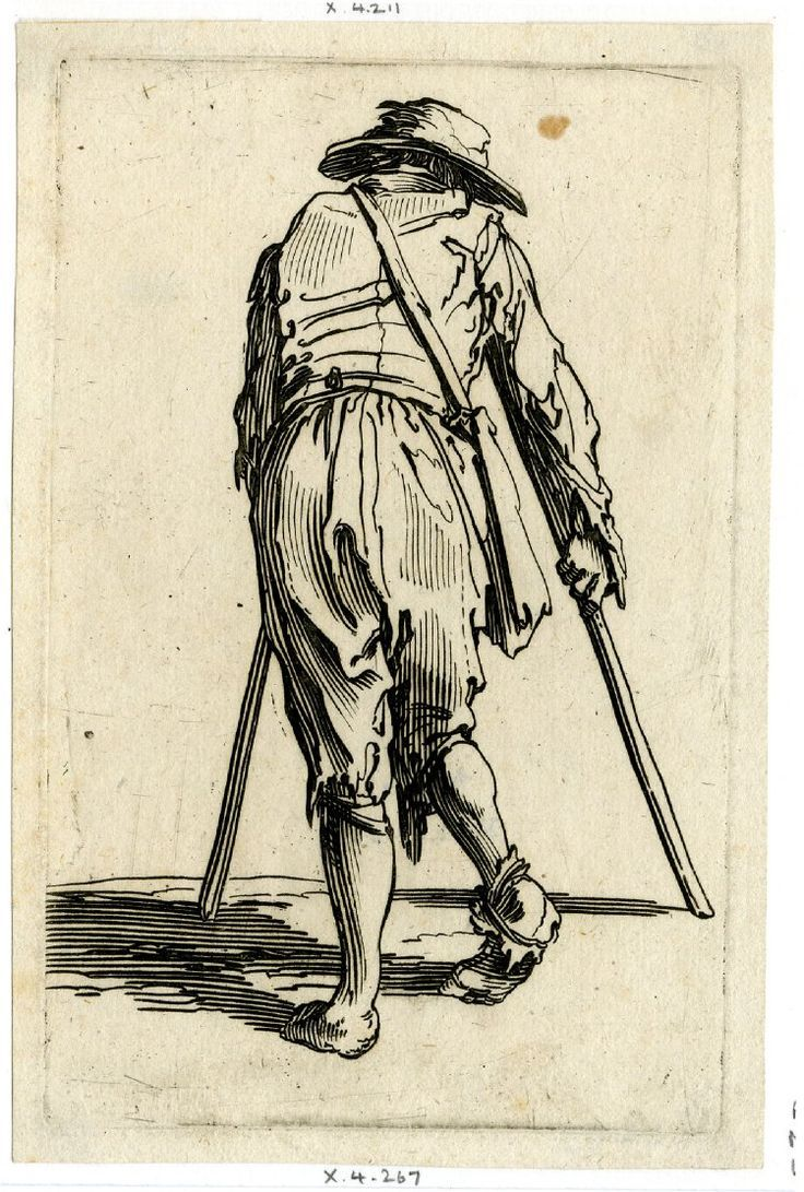 Begaar by Jacques Callot - British Museum