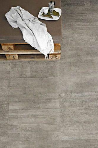 Baldosa de suelo de gres porcelánico: imitación hormigón RE-USE : MALTA GREY PROVENZA