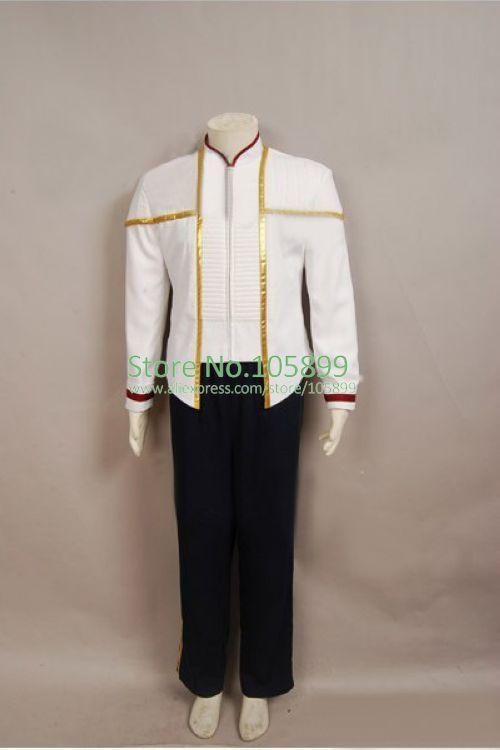 Star Trek Insurrection Nemesis White Mess Dress Uniform Costume #Affiliate