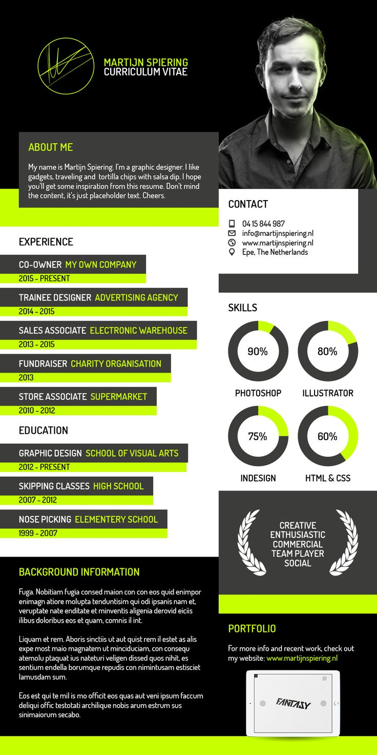 50 Best Resume Images On Pinterest
