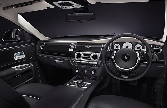 Rolls-Royce launches the Ghost V-Specification #RollsRoyce