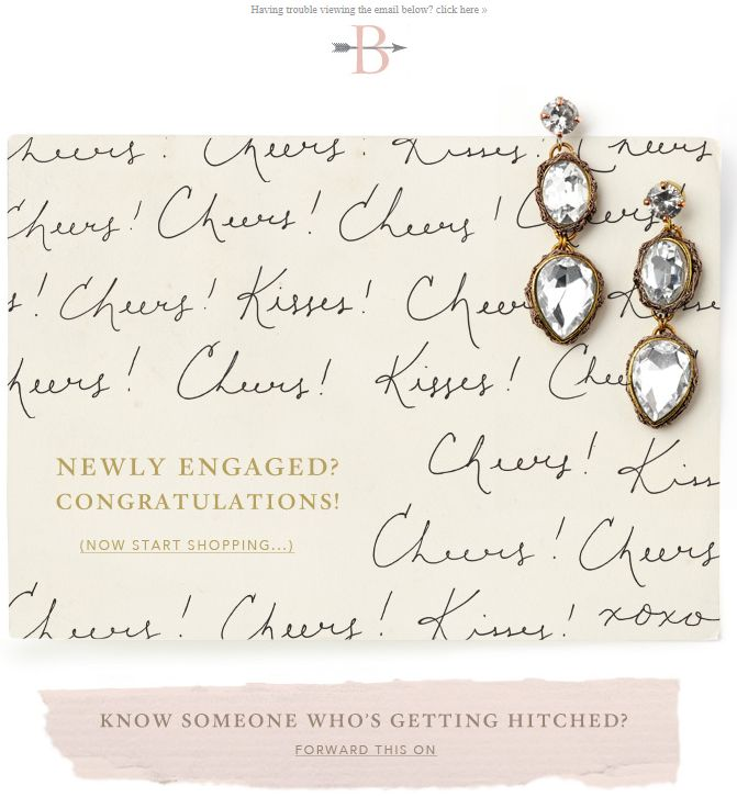 "BHLDN - subject ""Ring... in the New Year!"" with pitch to the newly ..."