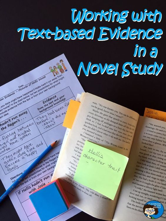 Text-based evidence is a hot term in the education world today, and it's for good reason. Finding text-based evidence to back up their answers and findings is an important skill for students to learn, as it truly enhances their reading comprehension. Our