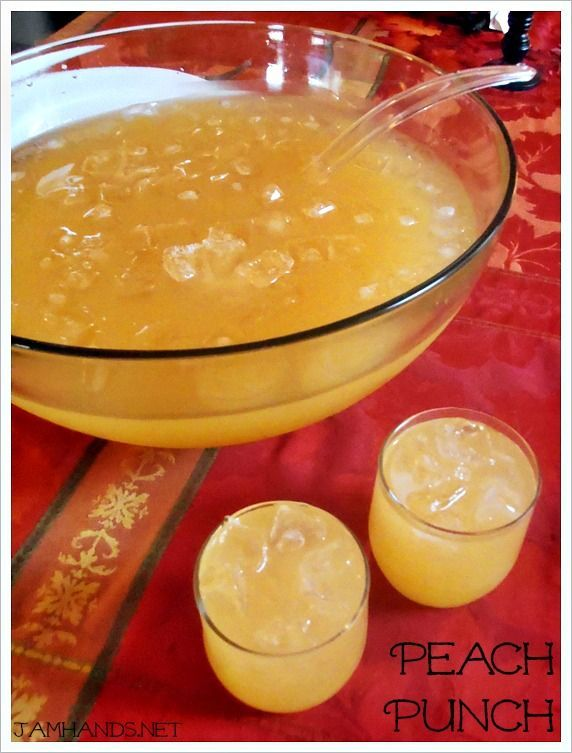 Peach Punch: Sprite pineapple juice and white grape peach juice. Freeze extra pineapple juice into ice cubes for the bowl!.