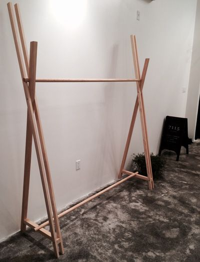 1000 Ideas About Clothes Racks On Pinterest Coat Hanger