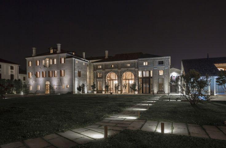 EBE 65 di Secco Sistemi si inserisce al meglio nel progetto di Villa Manin, soddisfando le prestazioni richieste dalla nuova destinazione funzionale.