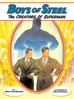 Jerry Siegel and Joe Shuster, two high school misfits in Depression-era Cleveland, were more like Clark Kent--meek, mild, and myopic--than his secret identity, Superman. Both boys escaped into the worlds of science fiction and pulp magazine adventure tales. Jerry wrote his own original stories and Joe illustrated them.