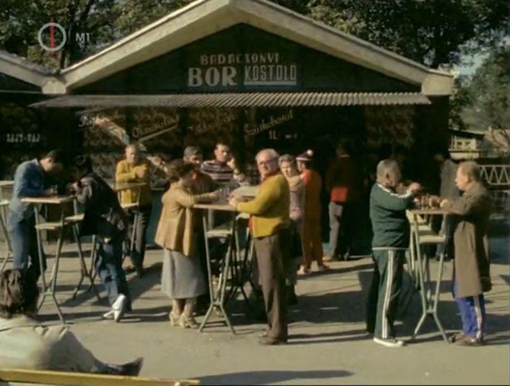 """Hévíz, """"Rizling platz"""", Deák tér, 1979"""