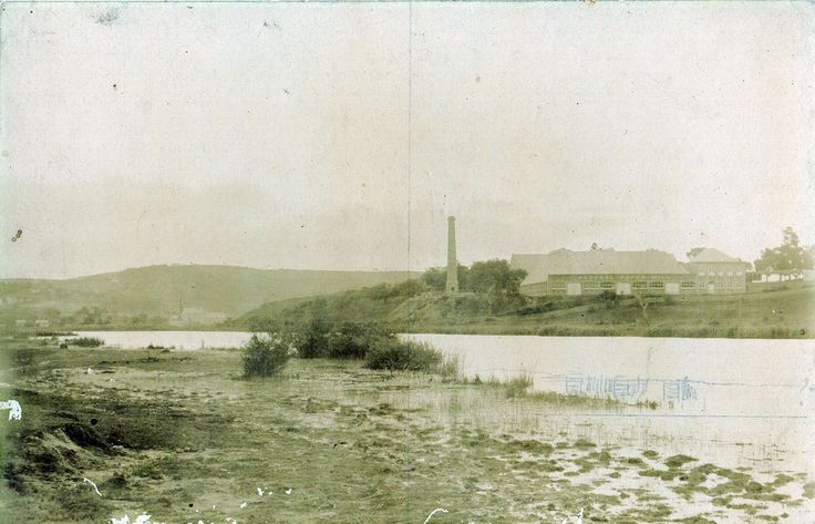 Possibly Barwon River?, Geelong, Vic.  One of a group of six photographs that ended up in Newcastle, NSW.