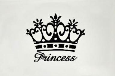 Immagine corona principessa da tatuare