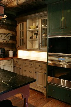Photos On St Louis primitive Log Cabin Kitchen Bar Bathroom Vanities