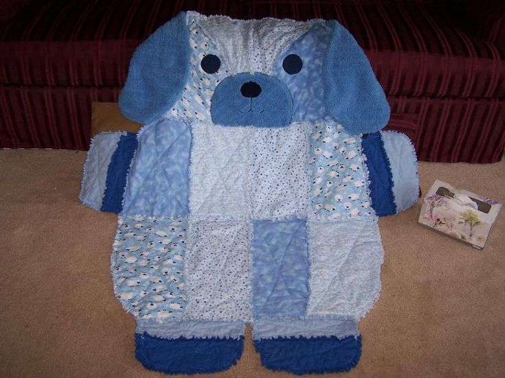 Rag Puppy Quilt  Erika... this is too cute... your mom might like this one too!