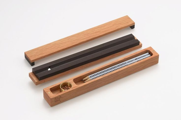 SHU SHU's 'shin' sharpener ensures the pencil is always mightier than the sword