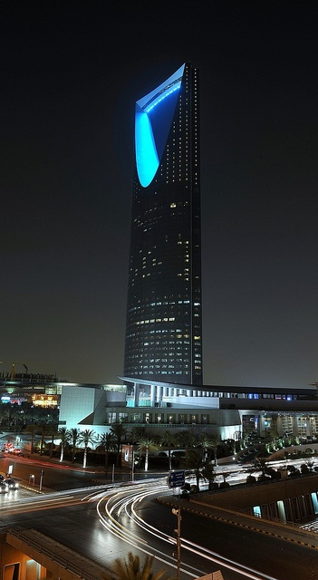 Kingdom Tower in Riyadh. It was a very interesting trip then as I got booted out of the British Council for being in the wrong side of the building...I was on the men's side ☺