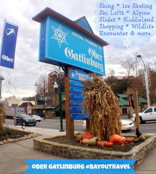Smoky Mountain Travel Family Attractions : Ober Gatlinburg #BayouTravel