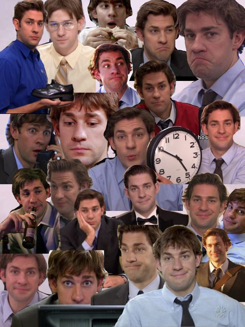The many many gorgeous faces of Jim Halpert