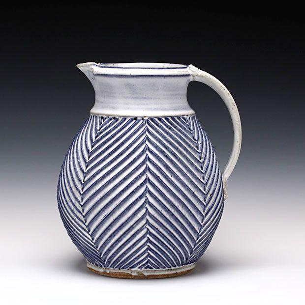 Mark Williams - Medium Pitcher - stoneware with multiple glazes