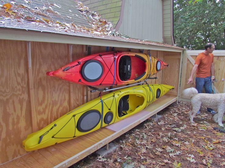 Kayak Canoe Sup Storage Racks . Kayak, Sup And Canoe Storage Racks Protect  By Suspending Your Kayaks, Canoes And Sups With Suspenz Kayak Storage Ra.
