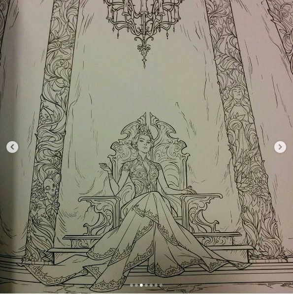 Court Of Thorns And Roses Coloring Book Luxury 25 Best Ideas About