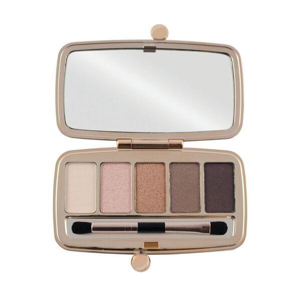 Makeup Revolution Renaissance Palette Night, dit Oogschaduw Palette bevat 5 prachtige eyeshadows van licht tot donker (nudes). Shop nu Beauty88.nl!