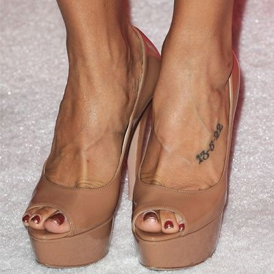 CELEBRITY ANKLE TATTOOS PICTURES, PICS, IMAGES, PHOTOS OF ...