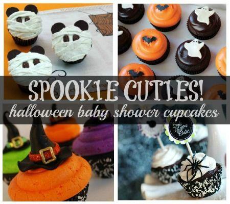 spookie cuties the very best halloween baby shower cupcakes disney baby