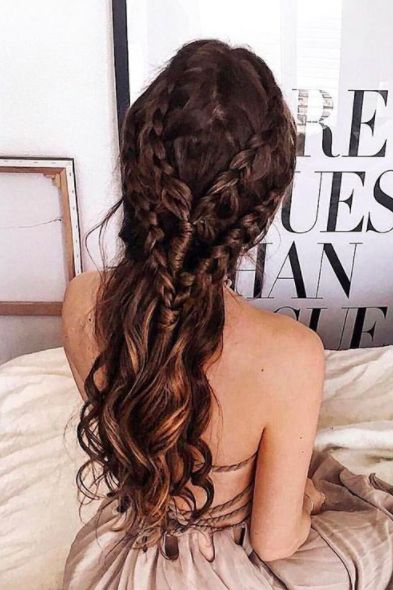 Beautiful Braid Hairstyle on @thefashionfraction. xo