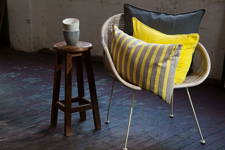 Delight with yellow and grey