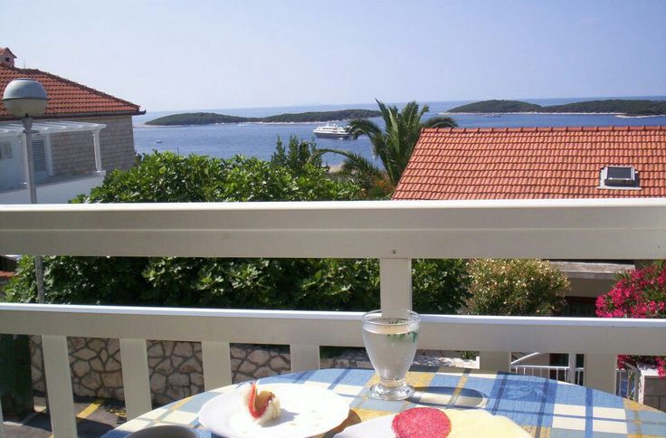 View from my balcony...Beautiful Hvar♥