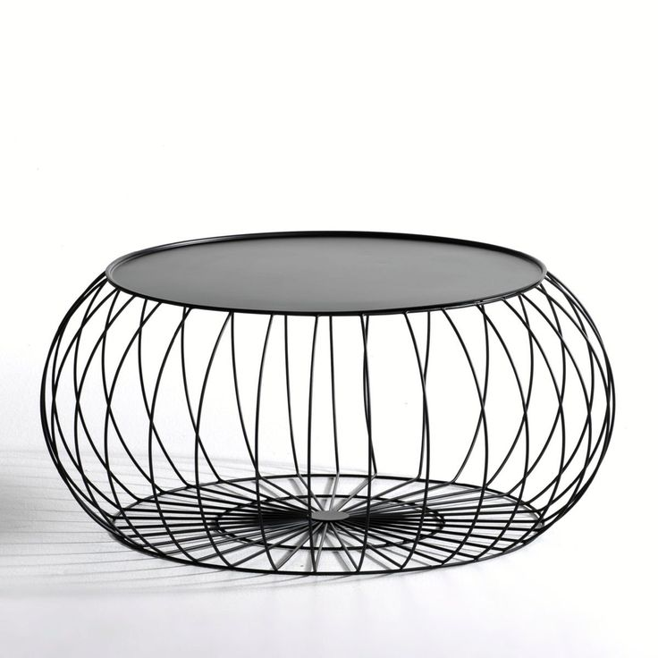 Best 25 table basse metal ideas on pinterest table - Table basse ronde metal ...
