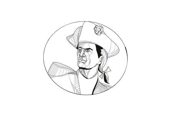 American Patriot Doodle Art by patrimonio on @creativemarket