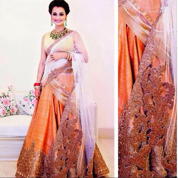 Dia Mirza is one of those celebrities whome its super hard not to like. Beneath the soft spoken exterior however, she has always been quite the fashionista and we doubt we have ever seen her being ...