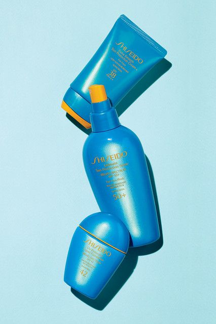 Shiseido Sunscreen-THE BEST sunblock. Has a cult following. Japanese brand which protects the skin!!!
