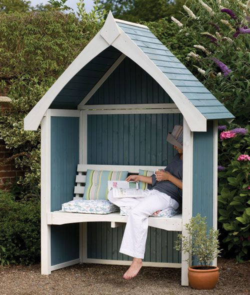 Love this...Cute...Forest Limoge Arbour @House2HomeUK