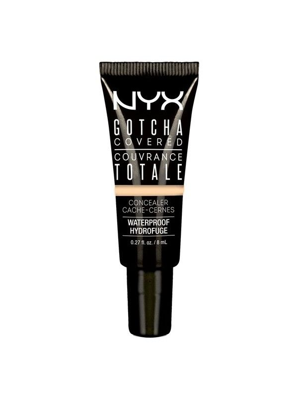 NYX Gotcha covered concealer, This full coverage, waterproof and long-lasting concealer effectively covers up imperfect skin.