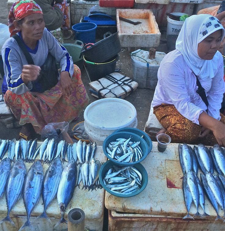 A visit to Jimbaran fishing market in Bali is an unforgettable photographic journey.