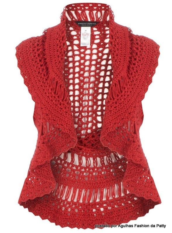 crochet vest Crochet Clothes Pinterest
