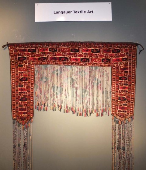 London Antique Rug Textile Art Fair: Report From The Ongoing Berlin Antique Rugs & Textile
