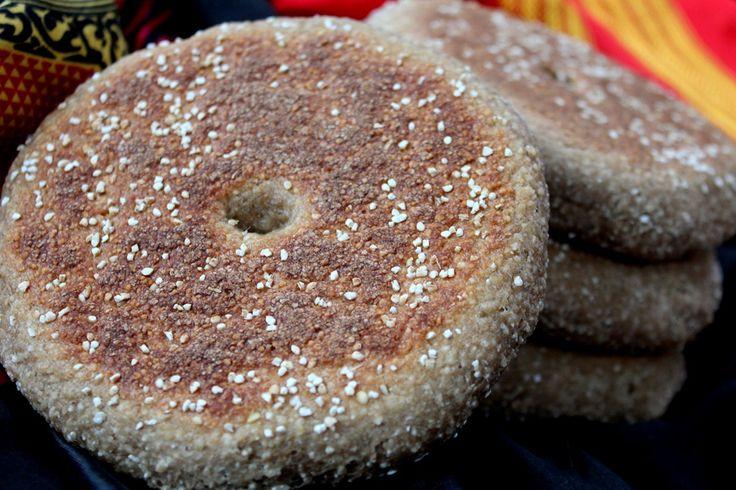 pain à l'orge, pain algerien