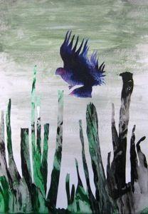 Surrealismus - Decalcomanien Die Schüler lernen als eine weitere surreale Technik die Decalcomanie kennen. Zufällig entstandene Abdrücke von Farbklecksereien werden mit Hilfe verschiedener Techniken interpretiert. 6. bzw. 11. Klasse