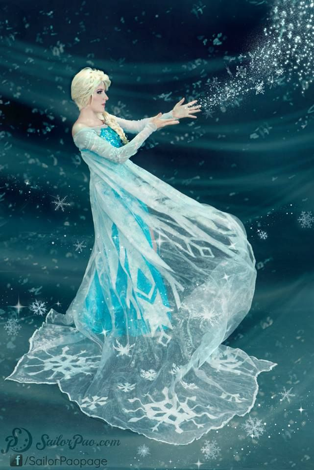 Such a beautiful Elsa cosplay! - 10 Elsa Cosplays
