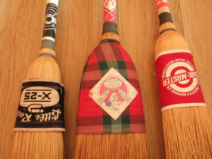 Vintage Curling Brush Corn Brooms Vintage Curling
