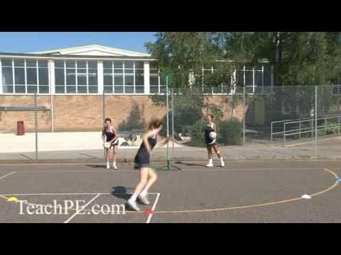 Netball Shooting Drill - A Fan of Shooting