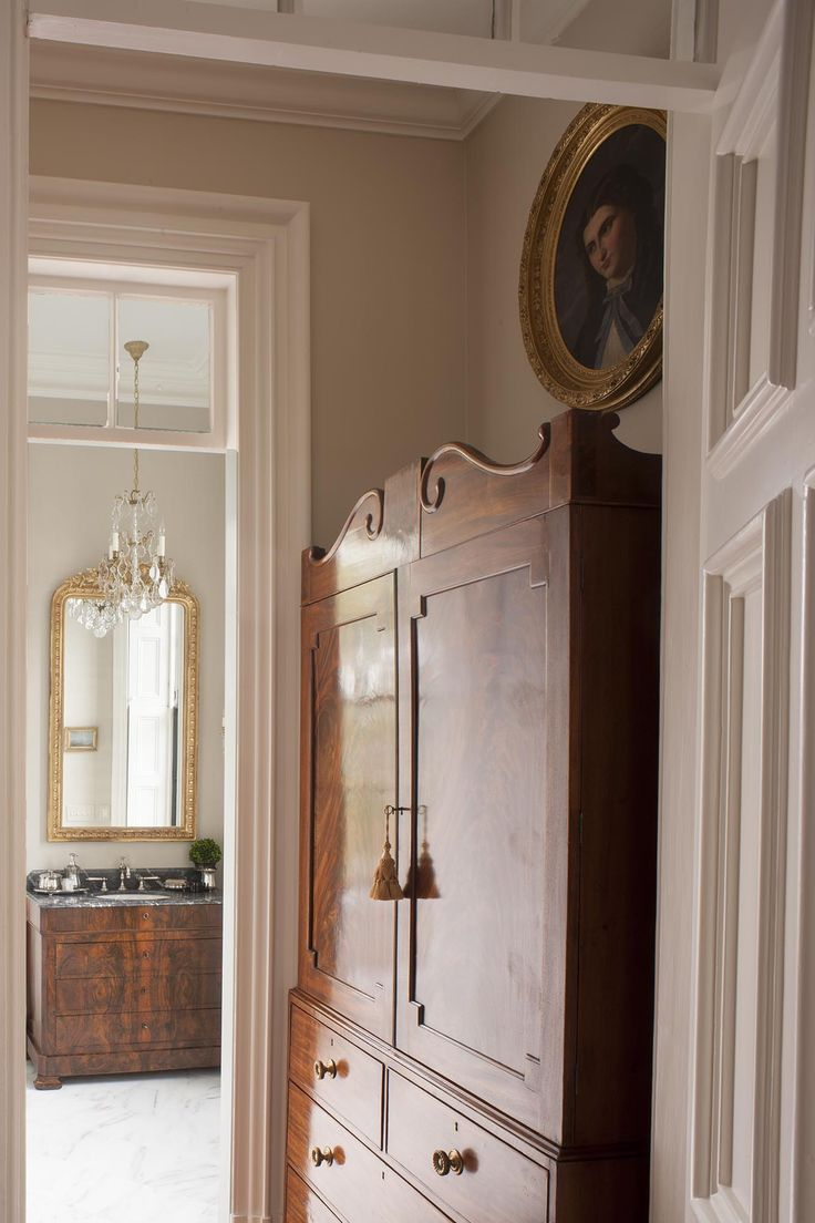 Interior designers in charleston sc - Antique Wardrobe In Monochromatic Dressing Room Slc Interiors Interior Design Charleston Sc